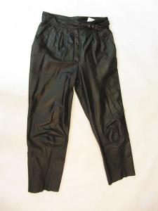 Kožené kalhoty vel. 42 - obvod pasu: 84 cm