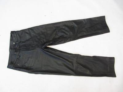 Kožené kalhoty  GIPSY vel. 30 - obvod  pasu: 72
