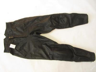 Kožené kalhoty vel. 52 - obvod pasu: 82 cm (5548