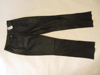 Dámské kožené kalhoty GIPSY - obvod pasu: 74 cm