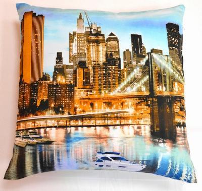 Povlak s motivem 3D New York > 45X45cm