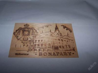 SLAVKOV u BRNA dřevěná restaurace BONAPART  /ST2/