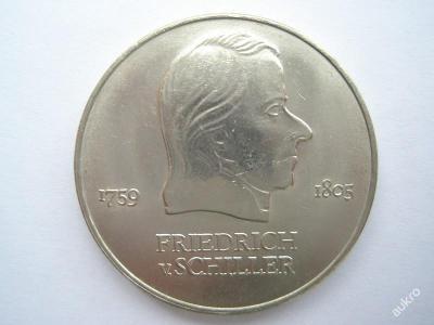 NDR 20 marka Friedrich v.Schiller 1972 A