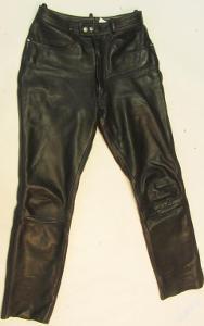 Kožené kalhoty vel. 38 ROOTS - obvod pasu: 72 cm