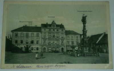 Dux Marktplatz  (Duchcov náměstí - obecní úřad)
