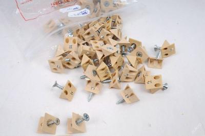 Plastové úchyty sololitu 50ks (4427)