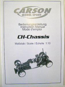 56169 návod k použití pro CH-Chassis 1:10 CARSON