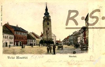 Velké Meziříčí 1901 - Žďár nad Sázavou