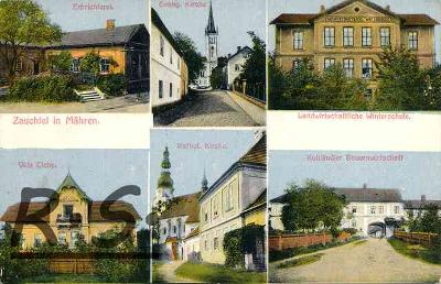 Suchdol nad Odrou 1914 - Nový Jičín   /970/