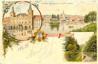 Písek 1899
