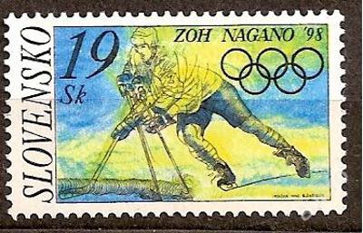 Slovensko 1998 kat.č.Mi301/Zb141