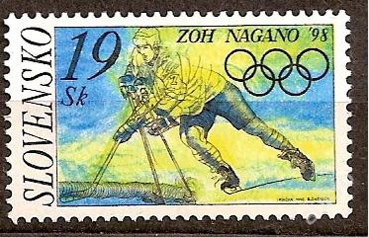 Slovensko 1998 kat.č.Mi301/Zb141 - Filatelie