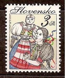 Slovensko 1998 kat.č.Mi305/Zb145