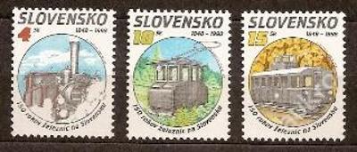 Slovensko 1998 kat.č.Mi314+315+316 / Zb154+155+156