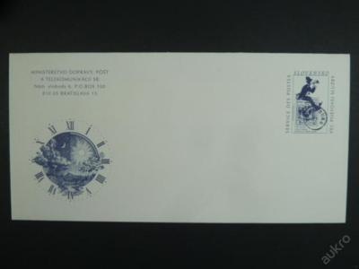 Slovenská služební obálka CSO 06 - z roku 2000