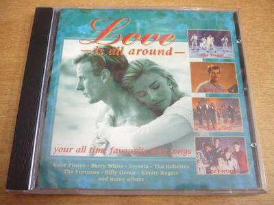 CD Love is all around / THE PLATTERS, THE TROGGS..