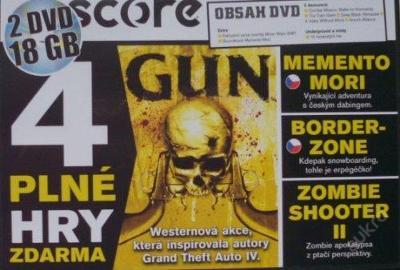 Gun - výtečná westernová akce, levně!