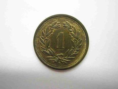 Švýcarsko 1 Rap 1917 B