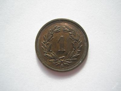 Švýcarsko 1 rap 1914 B