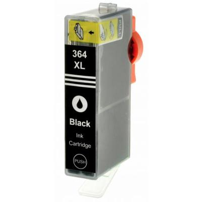 HP364, CN684EE, Black Pigment s čipem kompatibilní