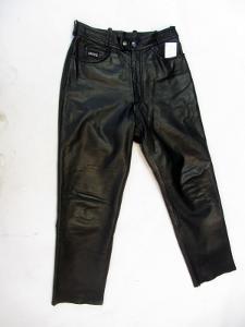 Kožené kalhoty AKITO obvod pasu:82 cm (8964)