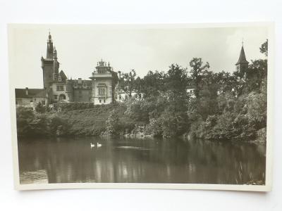 Průhonice, Praha - západ - zámek 1940