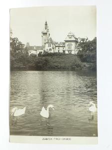 Průhonice, Praha - západ - zámek - labutě 1940