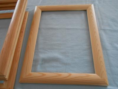 Dřevěné rámy,lakované 30/40cm  šíře lišty cca 45mm