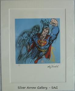 Andy Warhol - Superman - barevná litografie