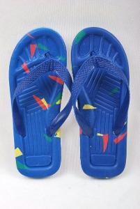 Plážové žabky modré , vel. 37 ( 0972 )