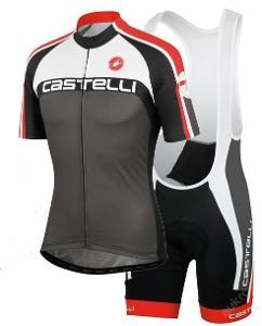 komplet cyklo dres 2014 Castelli