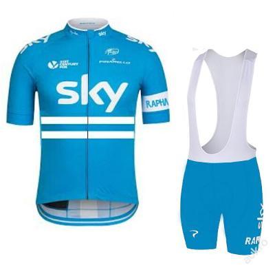 letní komplet cyklo dres 2016 SKY - vel. ???