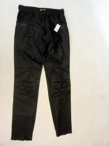 Kožené kalhoty LINUS vel. 33 - pas: 80cm (7954)
