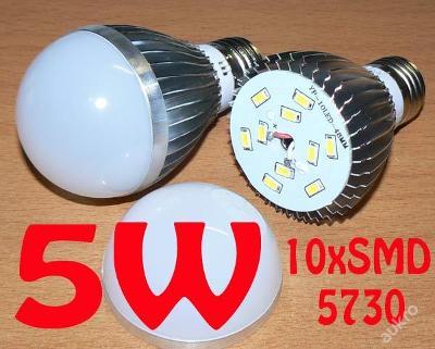 LED85 E27 5W 500lm (=40W) teplá bílá ZAŠLEME HNED