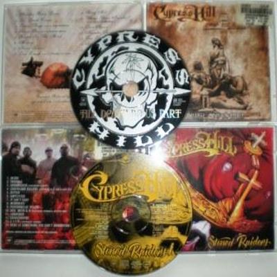 2 CD CYPRESS HILL - Stoned Raiders 2001/ Till Death Do Us SONY 2004 UK