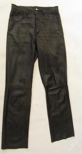 Kožené kalhoty  vel. 44 - obvod pasu: 78 cm