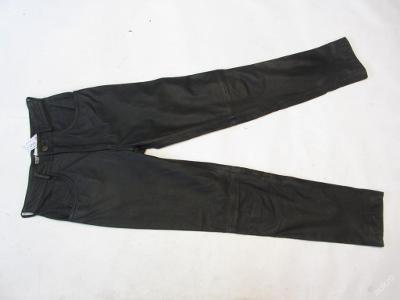 Kožené kalhoty LINUS vel. 29 - obvod pasu: 70 cm