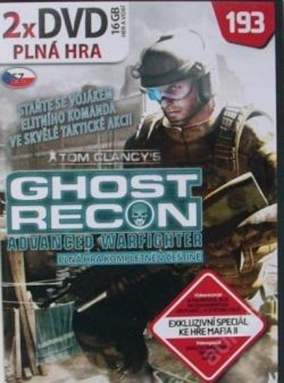 Ghost Recon Advanced Warfighter - výtečná akce! - Hry