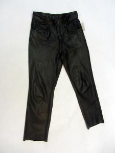 Kožené kalhoty RABERG vel. 33 - obvod pasu: 82 c