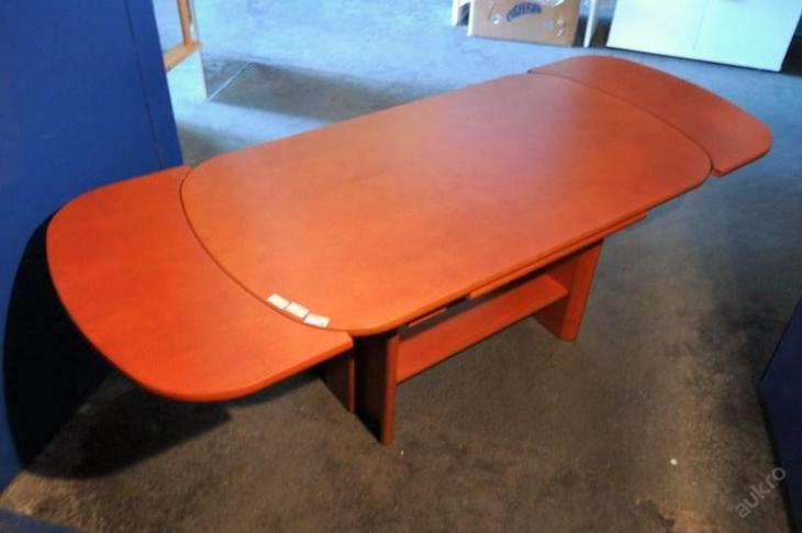 Konferenční stolek,rozkládací,nastav. výška (6144) - Nábytek