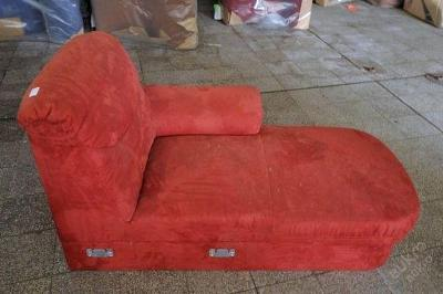 Sofa nerozkládací, mikroplyš 140 cm (5338)