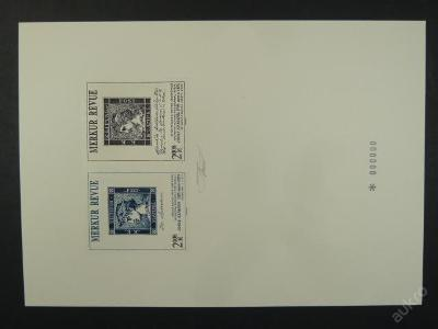 příl. tisk Merkur Revue 2008 - Axmann - nuly, sign.