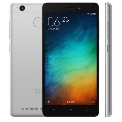 Silikonový obal Xiaomi Redmi 3S - bílý (průhledný)