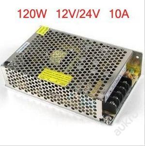 Spínamý zdroj pro LED pásek 220V - 12V 10A adaptér