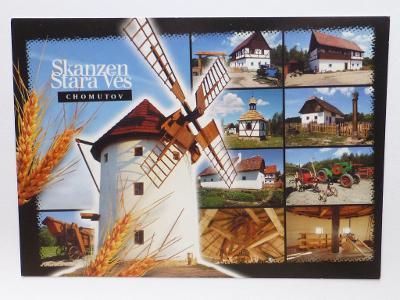 Chomutov - Skanzen Stará Ves - větrný mlýn