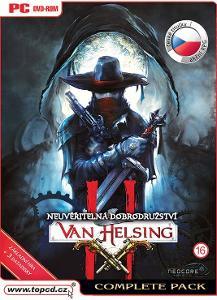 VAN HELSING 2 COMPLETE ED.  ČESKÉ TITULKY - NOVÁ - PC DVD