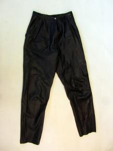 Kožené dámské kalhoty MADELEINE - pas: 72 cm