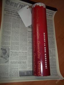 Noviny z roku 1961 22.08.*****RARITA JAKO DÁREK