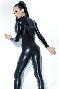 Faux Leather Jumpsuit M/L