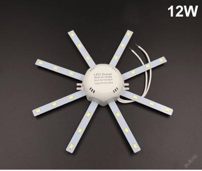 Nástěná stropní LED žárovka 12W 220V  bílá
